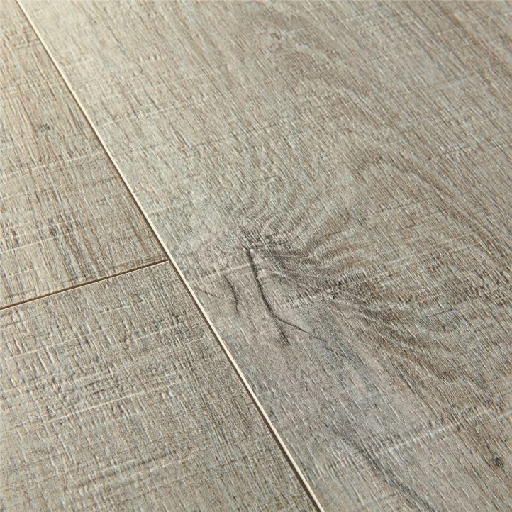 Виниловый пол Quick Step Pulse Click Pluse PUCP40106 Дуб хлопок, серый 3